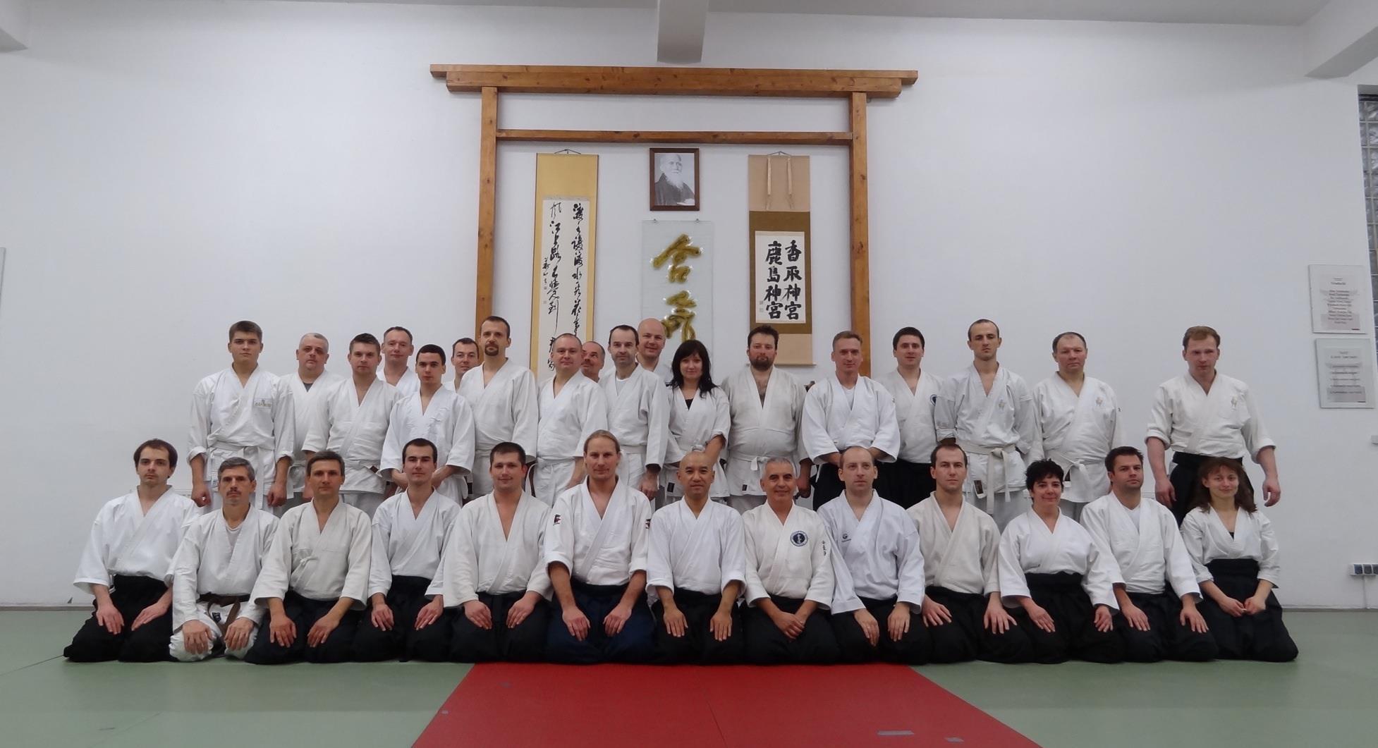 Seminarium Aikido i Iaido z Sensei Takashi Kuroki w Warszawie