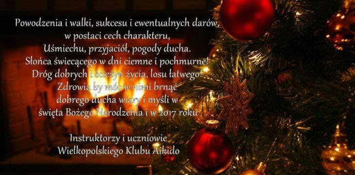 Życzenia świąteczne '16