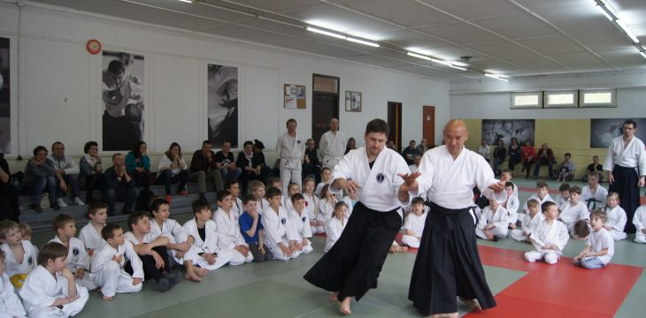 2017.04. Trening Aikido dla dzieci z mistrzem z Japoni